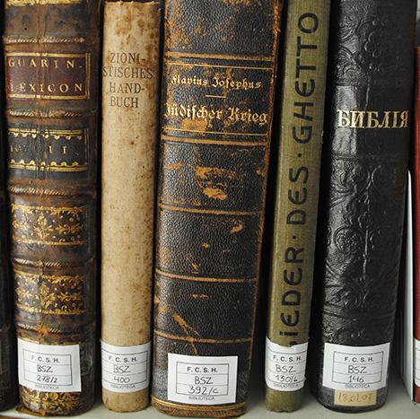 Biblioteca Samuel Schwarz - preservação
